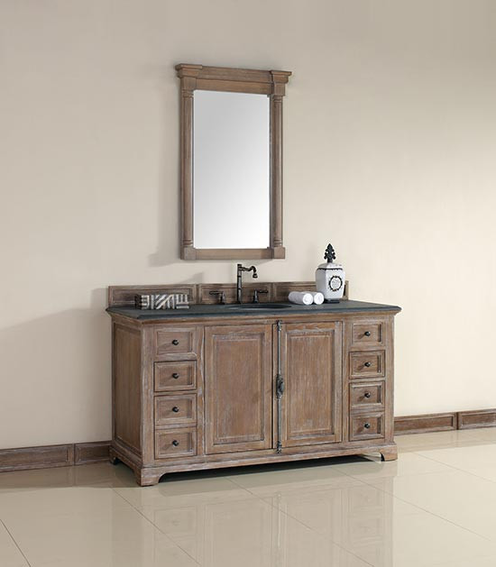 James Martin Providence (single) 60 Inch Transitional Bathroom Vanity    Driftwood