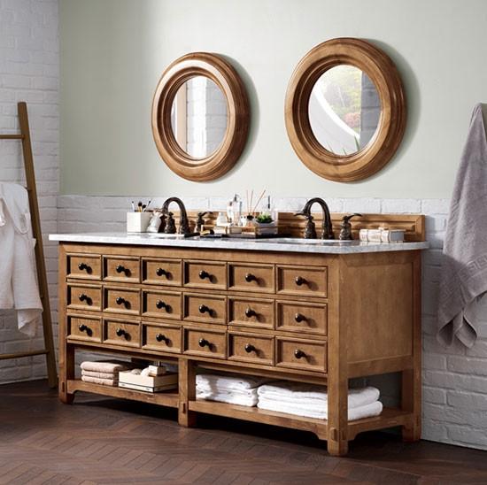 James Martin Malibu Double 72 Inch Traditional Bathroom