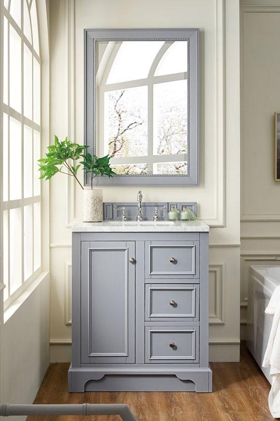 James Martin De Soto Single 30 Inch, Bathroom Vanities 30 Inch With Drawers