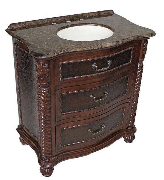 lymon (single) 32-inch antique bathroom vanity 32 Bathroom Vanity