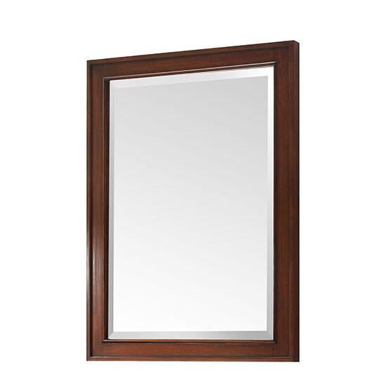 Avanity Brentwood 24-Inch New Walnut Transitional Bathroom Mirror