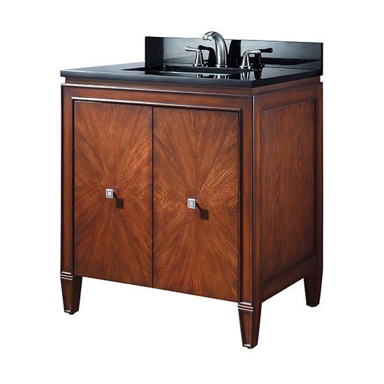 Avanity Brentwood Single 31 Inch Transitional Bathroom Vanity New Walnut