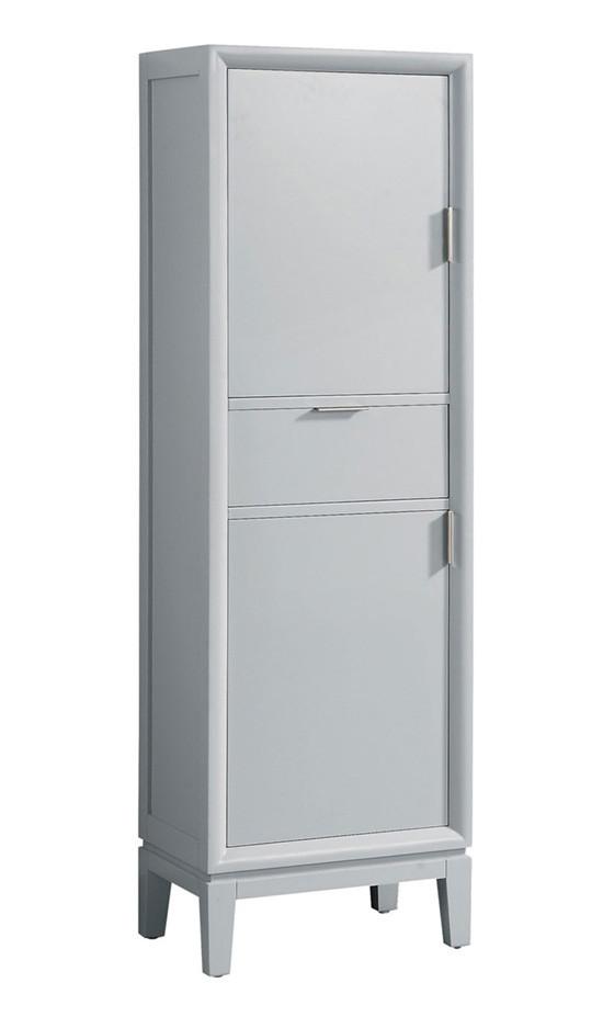 Modern Bathroom Tall Linen Side Cabinet, Tall Bathroom Linen Cabinets