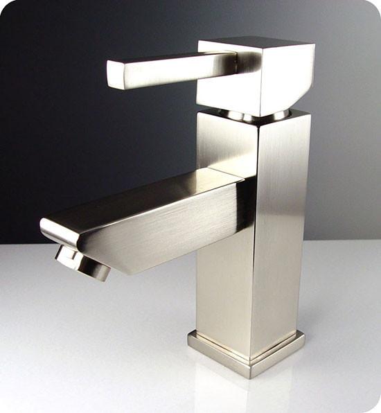 Fresca Versa FFT1030BN Brushed Nickel Single Hole Bathroom Faucet