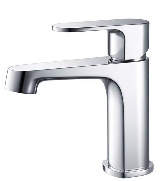 Fresca Gravina FFT9131CH Chrome Single Hole Bathroom Faucet