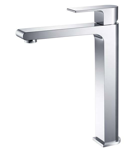 Fresca Allaro FFT9152CH Chrome Single Hole Vessel Bathroom Faucet