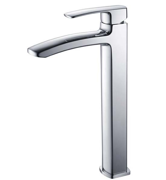 Fresca Fiora FFT9162CH Chrome Single Hole Vessel Bathroom Faucet