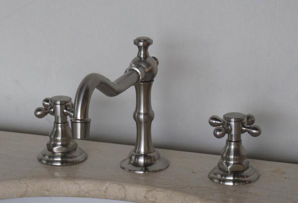 Silver Goose 2 Brushed Nickel Bathroom Faucet