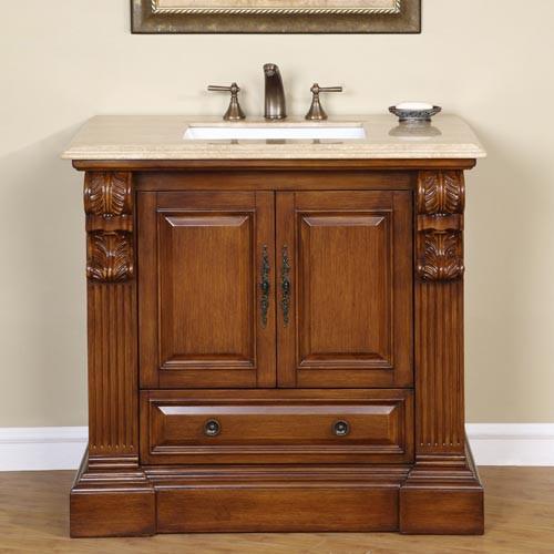 Gloria (single) 38-Inch Traditional Bathroom Vanity
