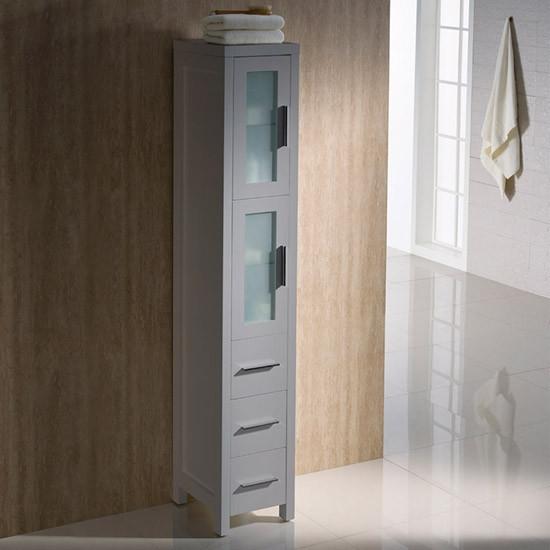 Fresca Torino 12 Inch Transitional Bathroom Tall Linen