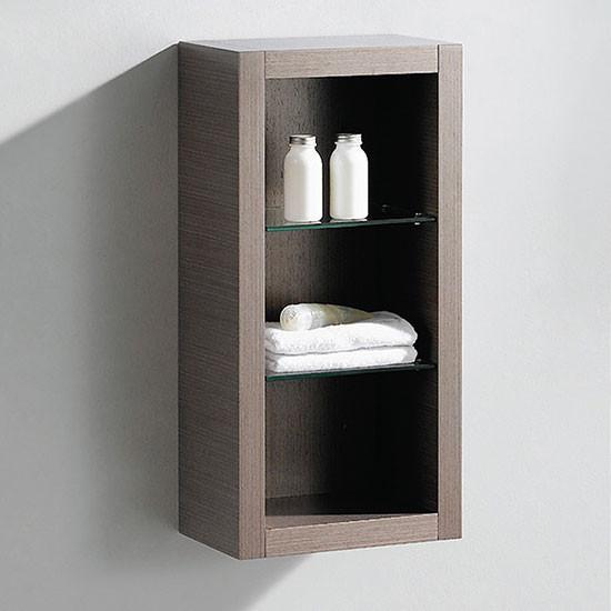 Fresca Allier 15.75-Inch Contemporary Wall-Mount Bathroom Linen Side Cabinet