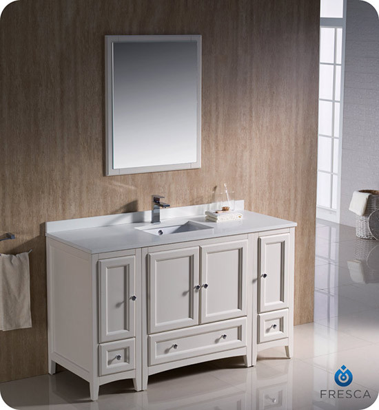 Inch Transitional Modular Bathroom