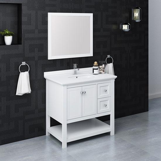 36 Inch Modern Bathroom Vanity Set, Bathroom Vanity Sets