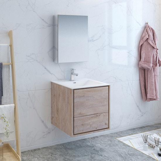 Fresca Catania Single 23 8 Inch Modern Wall Mount Bathroom