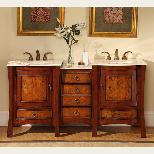Molokai (double) 67-Inch Transitional Bathroom Vanity