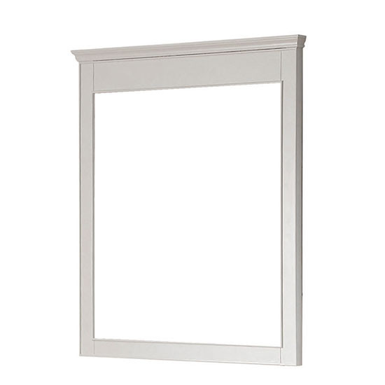 Avanity Windsor 30-Inch White Transitional Bathroom Mirror