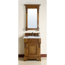 James Martin Brookfield (single) 26-Inch Country Oak Vanity Cabinet & Optional Countertops