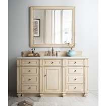 James Martin Bristol (single) 60-Inch Vintage Vanilla Vanity Cabinet & Optional Countertops