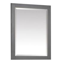 Avanity Allie/Austen 24-Inch Twilight Gray Gold Bathroom Mirror