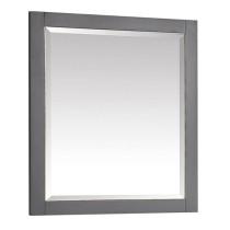 Avanity Allie/Austen 28-Inch Twilight Gray Gold Bathroom Mirror
