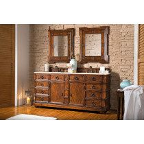 James Martin Regent (double) 70.5-Inch English Burl Traditional Bathroom Vanity