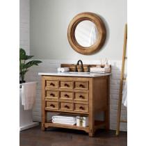 James Martin Malibu (single) 36-Inch Honey Alder Vanity Cabinet & Optional Countertops