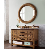 James Martin Malibu (single) 48-Inch Honey Alder Vanity Cabinet & Optional Countertops