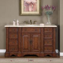 Roosevelt (single) 58-Inch Traditional Bathroom Vanity