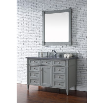 James Martin Brittany (single) 48-Inch Urban Gray Vanity Cabinet & Optional Countertops