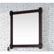 James Martin Brittany 35-Inch Burnished Mahogany Transitional Bathroom Mirror