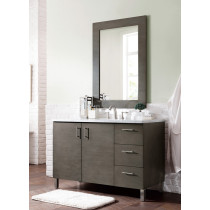 James Martin Metropolitan (single) 48-Inch Silver Oak Vanity Cabinet & Optional Countertops