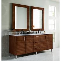 James Martin Metropolitan (double) 72-Inch American Walnut Vanity Cabinet & Optional Countertops