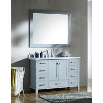 Ariel Cambridge (single) 49-Inch Grey Modern Bathroom Vanity Set
