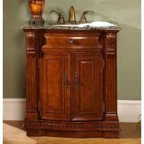 "Amaretto (single) 33"" Inch Traditional Bath Vanity"