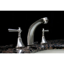 Cesna 1 Brushed Nickel 3-Piece Bathroom Faucet Set