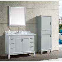 Avanity Emma (single) 43-Inch Dove Gray Vanity Cabinet & Optional Countertops