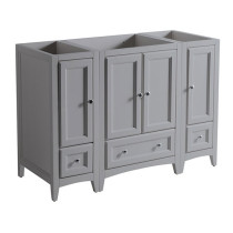 Fresca Oxford (single) 47.63-Inch Gray Transitional Modular Bathroom Vanity - Cabinet Only