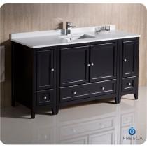 Fresca Oxford (single) 60-Inch Espresso Transitional Modular Bathroom Vanity