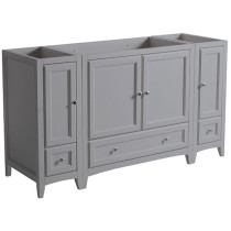 Fresca Oxford (single) 59.38-Inch Gray Transitional Modular Bathroom Vanity - Cabinet Only