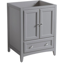 Fresca Oxford (single) 23.63-Inch Transitional Gray Bathroom Vanity - Cabint Only