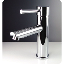 Fresca Tartaro FFT1040CH Chrome Single Hole Bathroom Faucet
