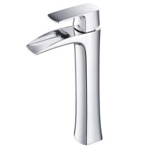 Fresca Fortore FFT3072CH Chrome Single Hole Vessel Bathroom Faucet