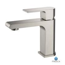 Fresca Allaro FFT9151BN Brushed Nickel Single Hole Bathroom Faucet