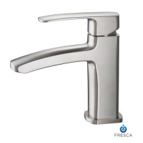 Fresca Fiora FFT9161BN Brushed Nickel Single Hole Bathroom Faucet