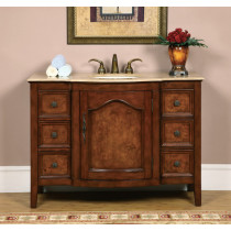 Casanova (single) 48-Inch Traditional Bathroom Vanity