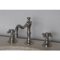 Silver Goose Brushed Chrome Bathroom Faucet