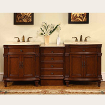 Brielle (double) 80-Inch Traditional Modular Bathroom Vanity