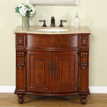 Ginger (single) 36-Inch Traditional Bathroom Vanity