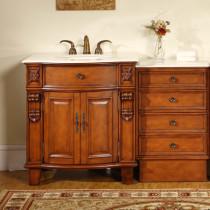 Spooner traditional bathroom vanity