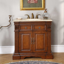 Allegra (single) 36-Inch Traditional Bathroom Vanity